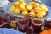 Cornbread Muffins and Bourbon Cranberry Sauce Shots